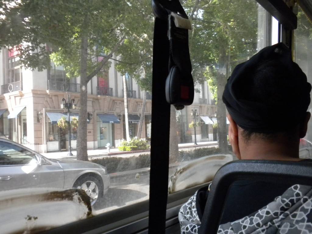 Beverly Hills from the Bus